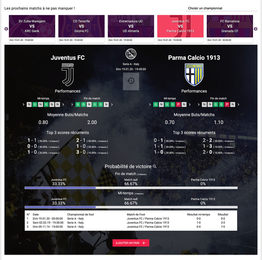 Leagues Of Football Prochain Matchs Statistiques